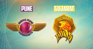 Gujarat Lions Vs Rising Pune Supergiants