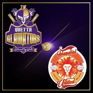 Islamabad United vs Quetta Gladiators