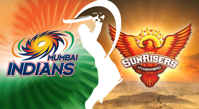 Sunrisers Hyderabad v Mumbai Indians