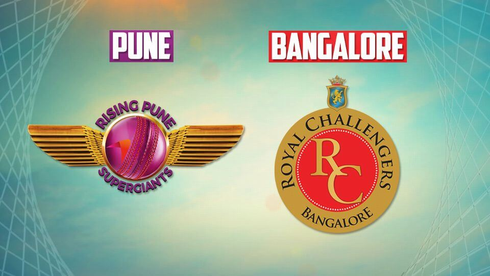 Rising Pune Supergiants v Royal Challengers Bangalore