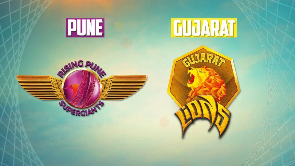 Rising Pune Supergiants vs Gujarat Lions